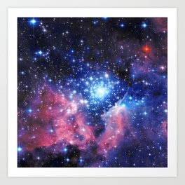 Extreme Star Cluster Art Print