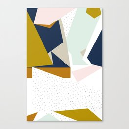 Stopping me from sinking Canvas Print