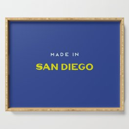 Made in San Diego Serving Tray