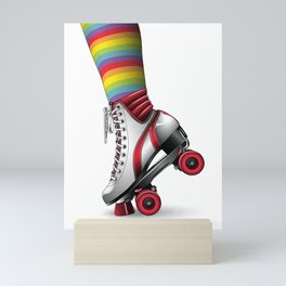 Ready, Set, Skate! Mini Art Print