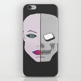 Jekyll and Hyde. iPhone Skin