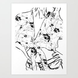 Fashionista || #illustration #fashion Art Print