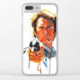Dirty Harry Clear iPhone Case