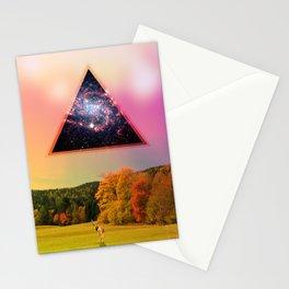 Deer surprise Stationery Cards
