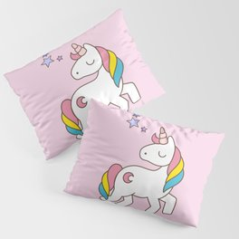 Keep calm and be a Unicorn Pillow Sham