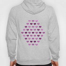 Colorful Cute Hearts VI Hoody