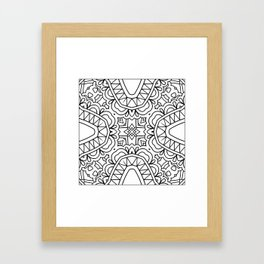 Doodle Patterns Coloring Canvas Home Decor Wall Art Canvas Print Framed Art Print