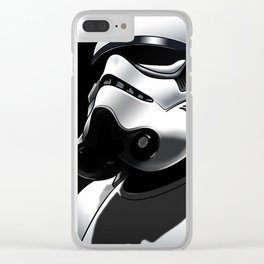 Imperial Stormtrooper Clear iPhone Case