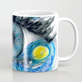 Starry Night Eye Artwork Coffee Mug