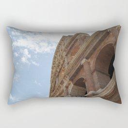 Colosseum Close Up Rectangular Pillow