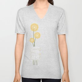 David Foster Wallace on Bees  Unisex V-Neck