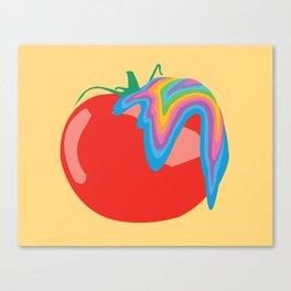 Tomato Acid Canvas Print