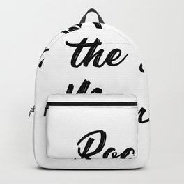 Rocking The Boy Mom Life Funny Backpack