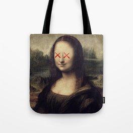 Mona Lisa x Kaws Tote Bag