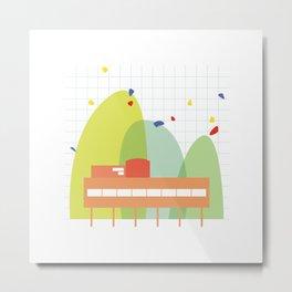 architecture - le corbusier Metal Print
