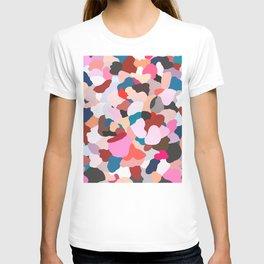 petals: abstract painting T-shirt