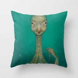 La Coquette Throw Pillow