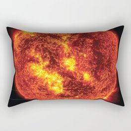 Solar System and Beyond: Sun Rectangular Pillow