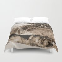 german Duvet Covers featuring German Shepherd by Erika Kaisersot