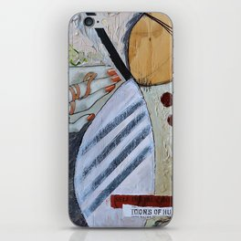 Icons of Hurt iPhone Skin