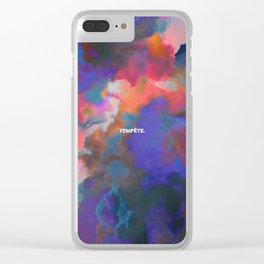 Tempête Clear iPhone Case