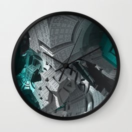 Fractaled Wall Clock