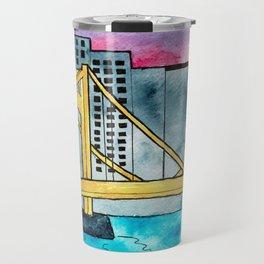 Pittsburgh Bridge Travel Mug