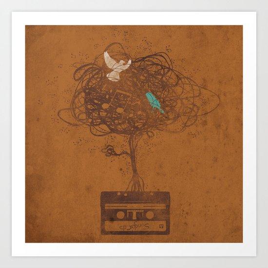 songbirds Art Print