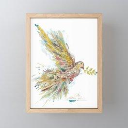 Speckled Dove 1 Framed Mini Art Print