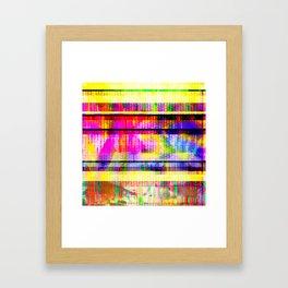 Databending #2 (Hidden Messages) Framed Art Print