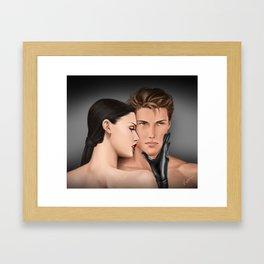 time to begin Framed Art Print