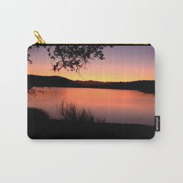LAKE HENNESSEY - NAPA CALIFORNIA - SUNSET REFLECTION Carry-All Pouch