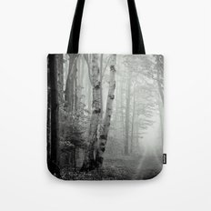 Two Track Road Tote Bag