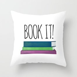 Book It! Throw Pillow