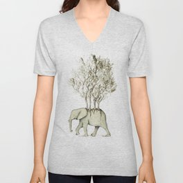 Carrying the Νature Unisex V-Neck