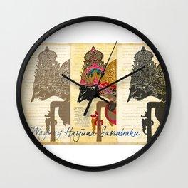 Harjuna Sasrabahu Wall Clock