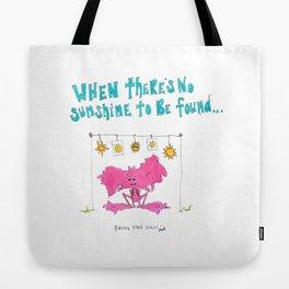 Little Monsters : Sunshine Tote Bag