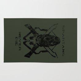 Spartans Never Die  |  Halo Rug