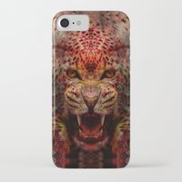 jaguar iPhone & iPod Cases featuring Jaguar by Zandonai