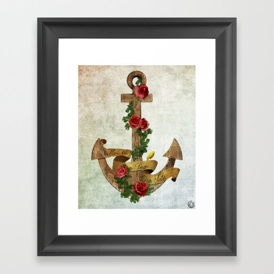 our fate Framed Art Print