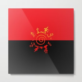 kurama shield Metal Print