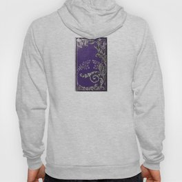 Blue and Silver Thistles Hoody
