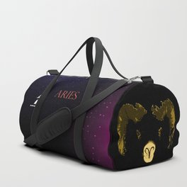 Aries - Fire of the Ram Duffle Bag