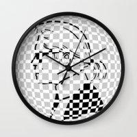 karl Wall Clocks featuring Karl by cvrcak