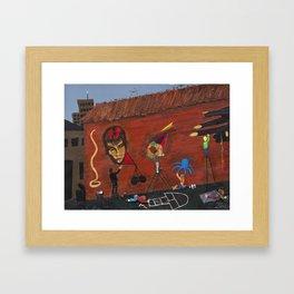 Basquiat Lives Framed Art Print