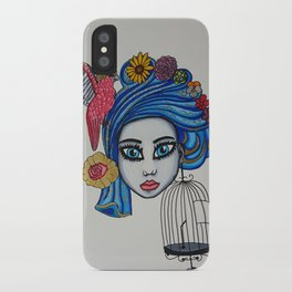 Expression is Freedom iPhone Case