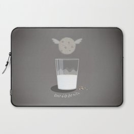 Gone with the milk Laptop Sleeve