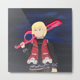 This is the Monado's Power Metal Print