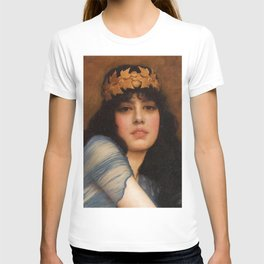 John William Godward - Head of a Girl (also known as The Priestess) T-shirt