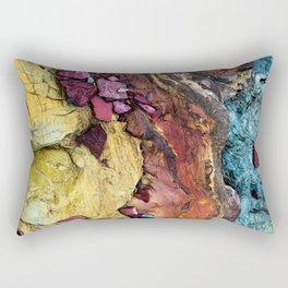 Colorful Nature : Texture Rectangular Pillow